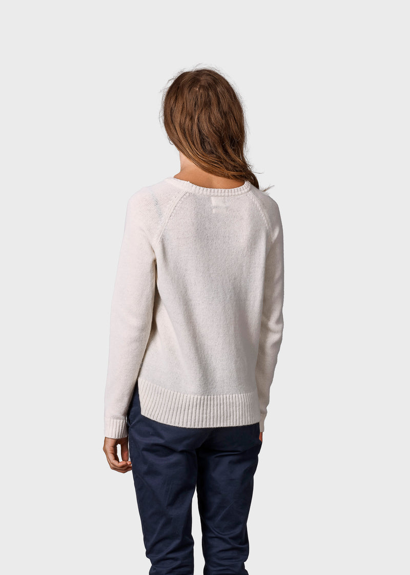 Klitmøller Collective ApS Nina knit Knitted sweaters Cream
