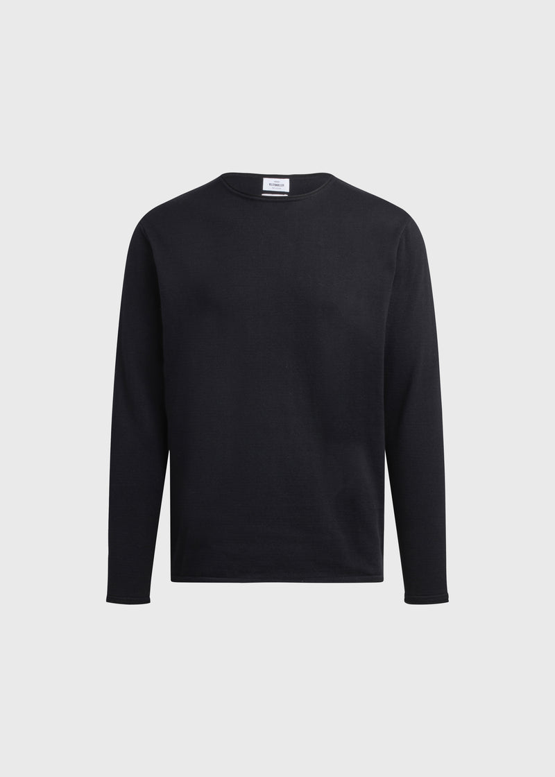 Klitmøller Collective ApS Noah knit Knitted sweaters Black