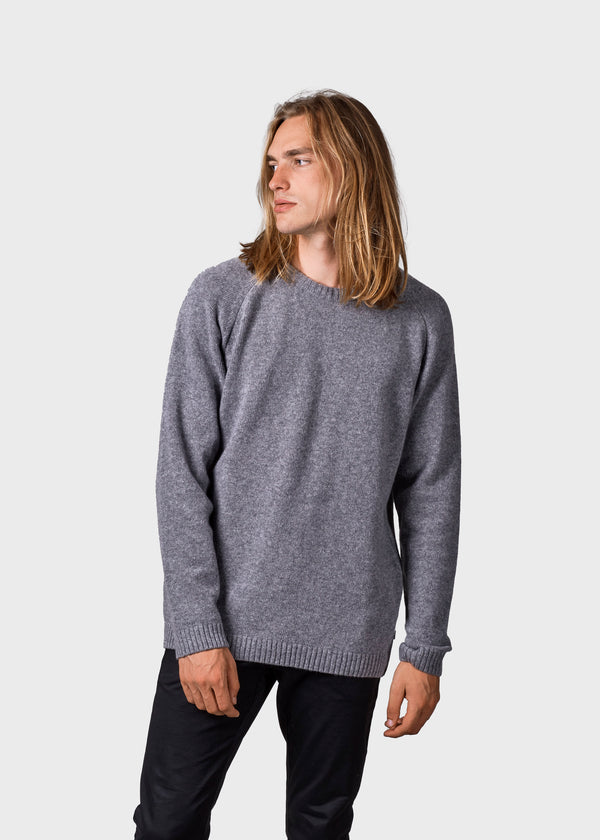 Klitmøller Collective ApS Ole Knitted sweaters Light grey