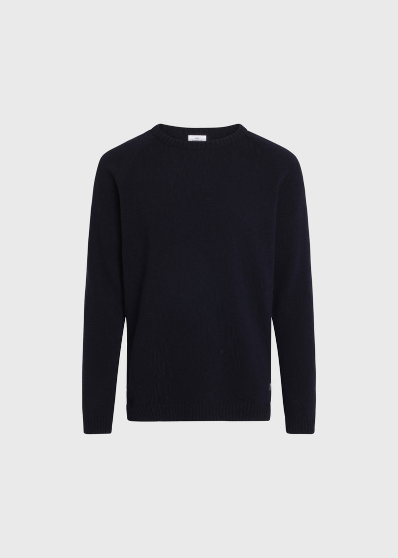 Klitmøller Collective ApS Ole knit Knitted sweaters Navy