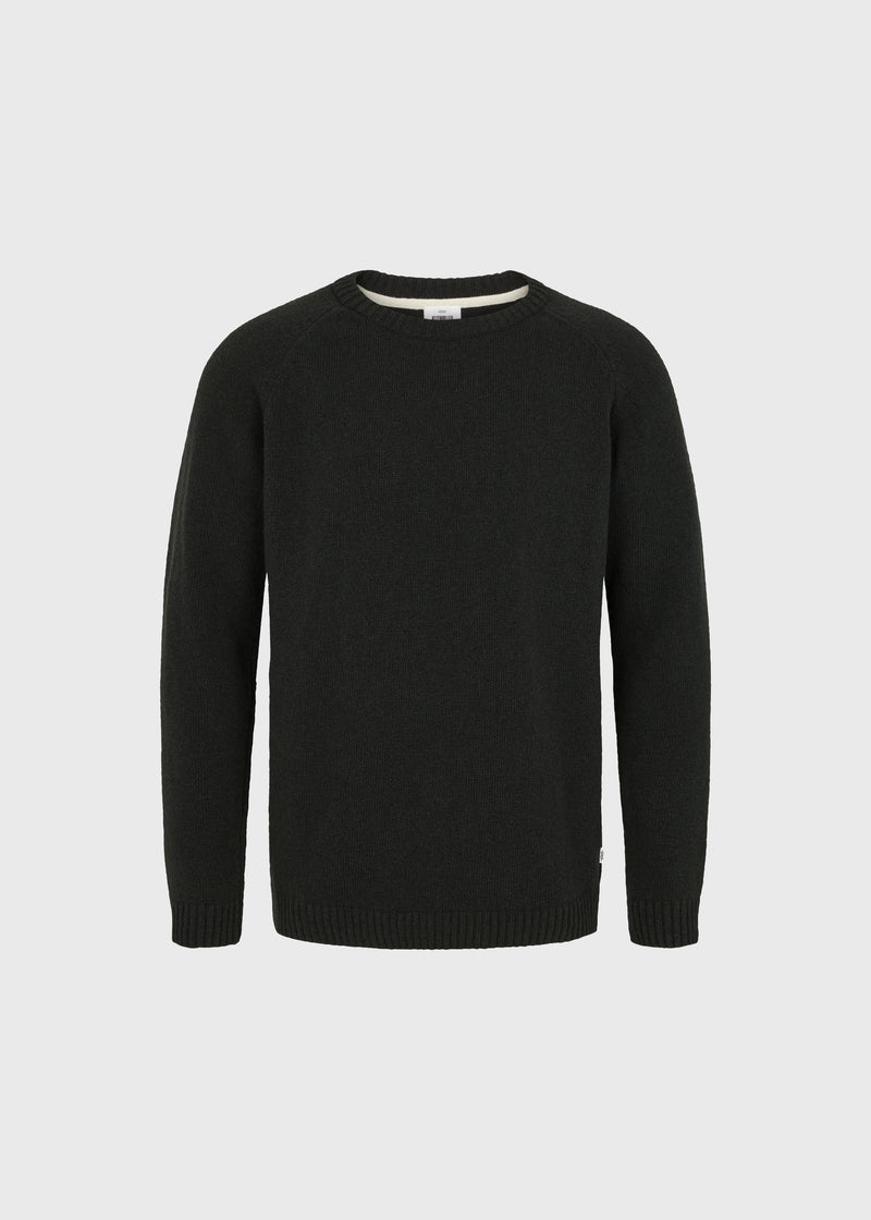 Klitmøller Collective ApS Ole knit Knitted sweaters Olive
