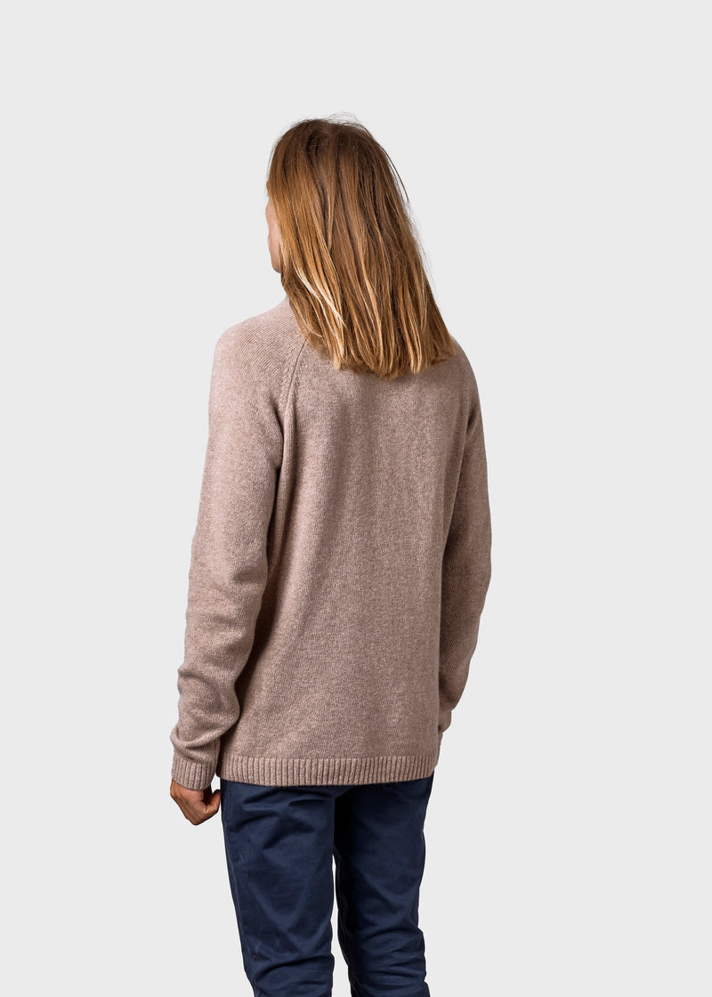 Klitmøller Collective ApS Ole knit Knitted sweaters Sand
