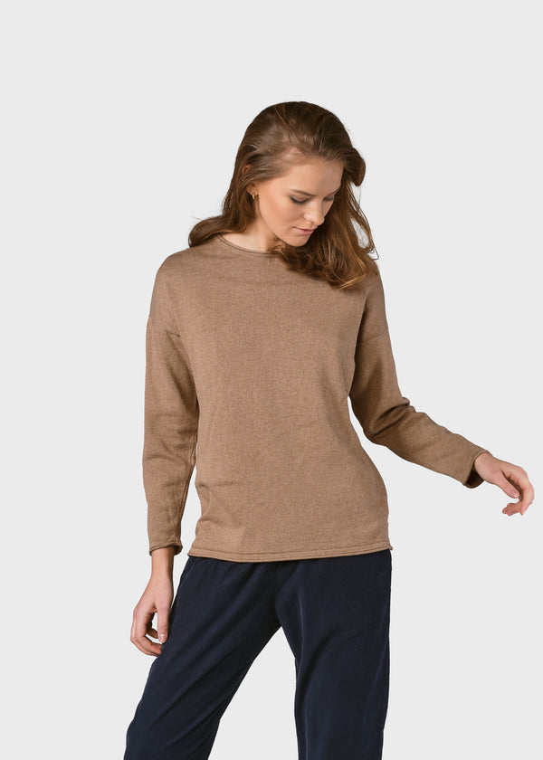 Klitmøller Collective ApS Patricia knit Knitted sweaters Sand