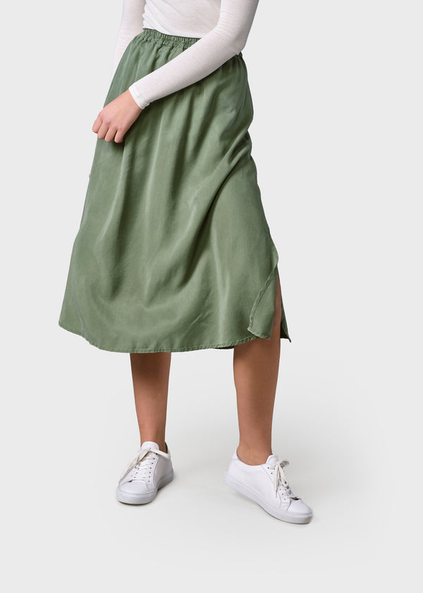 Klitmøller Collective ApS Ramona skirt Skirts Pale green