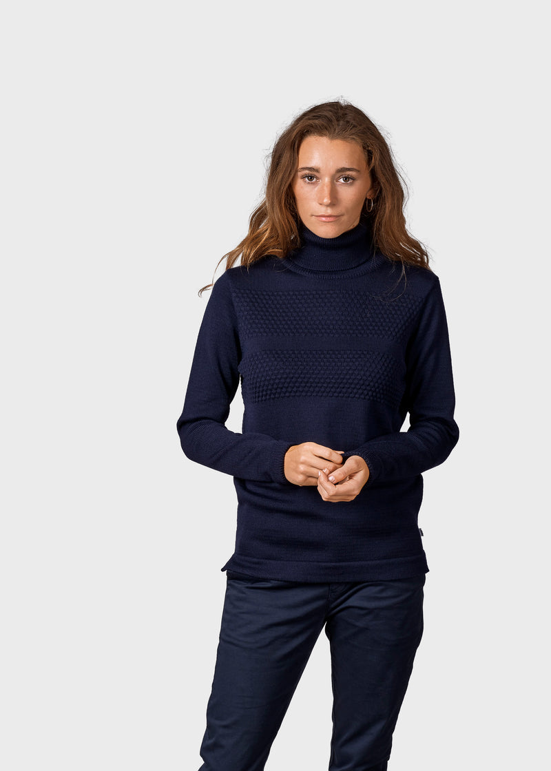 Klitmøller Collective ApS Sarah Knitted sweaters Navy