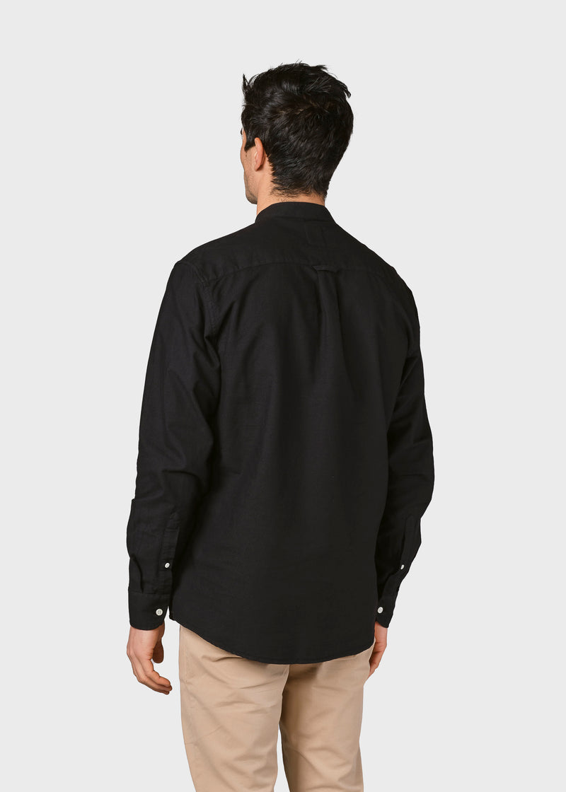 Klitmøller Collective ApS Simon shirt Shirts Black