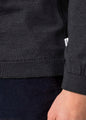 Womens basic merino knit - Anthracite