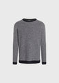 Arthur knit - Navy/white
