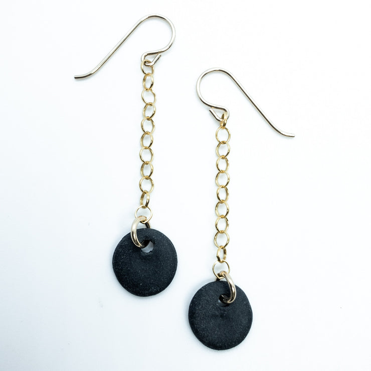Black Geometric Chain Dangles