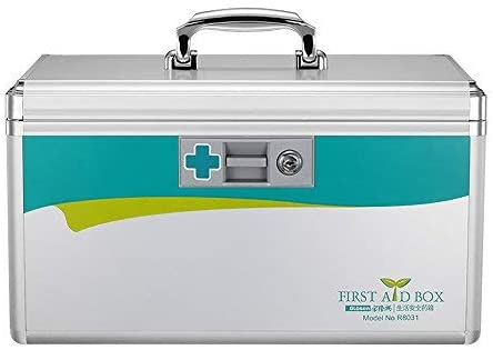 Glosen Lockable First Aid Box