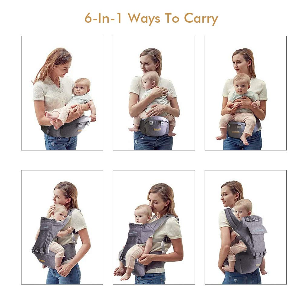 Eccomum Multifunction Baby Carrier