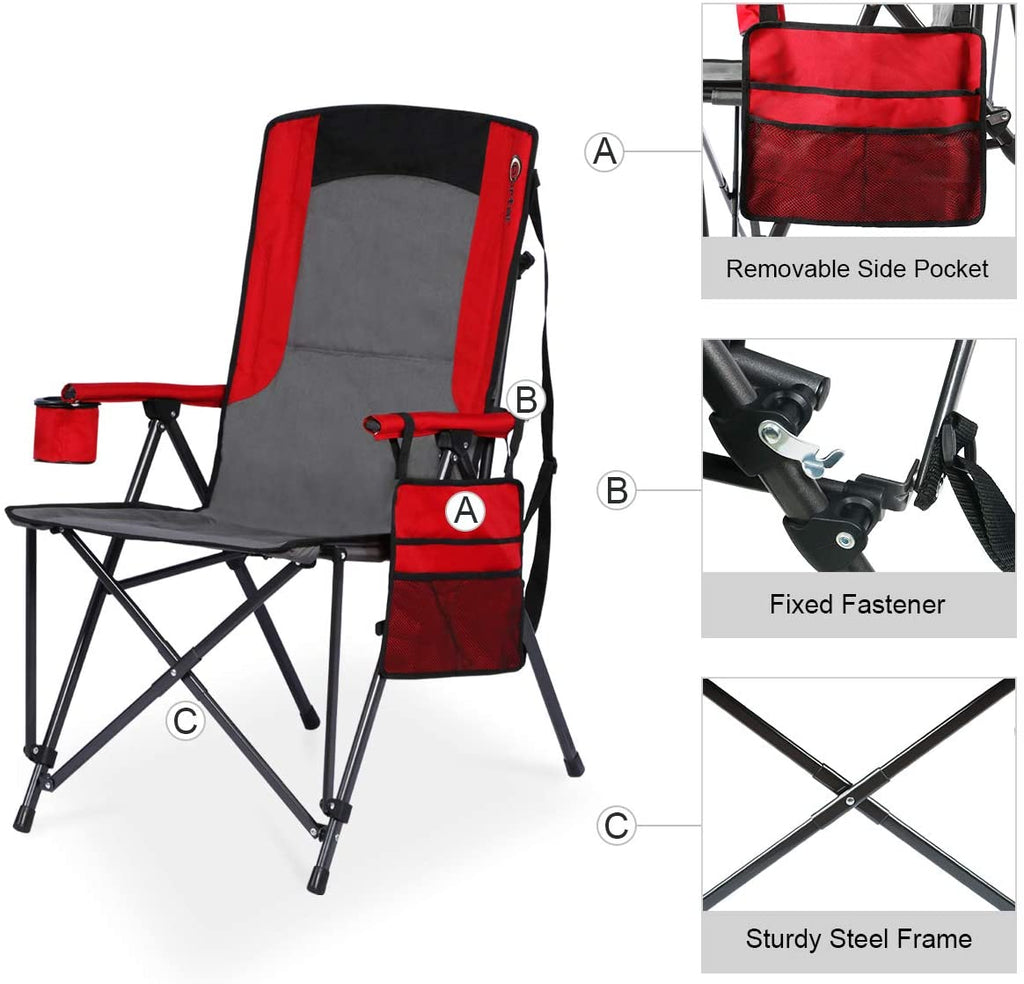 Portal Oversized Quad Folding Camping Chair
