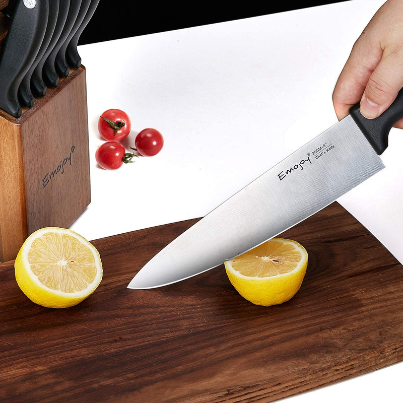 15-Piece Kitchen Knife Set