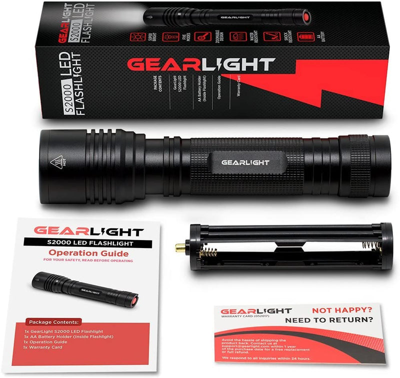 GearLight High-Powered LED Flashlight