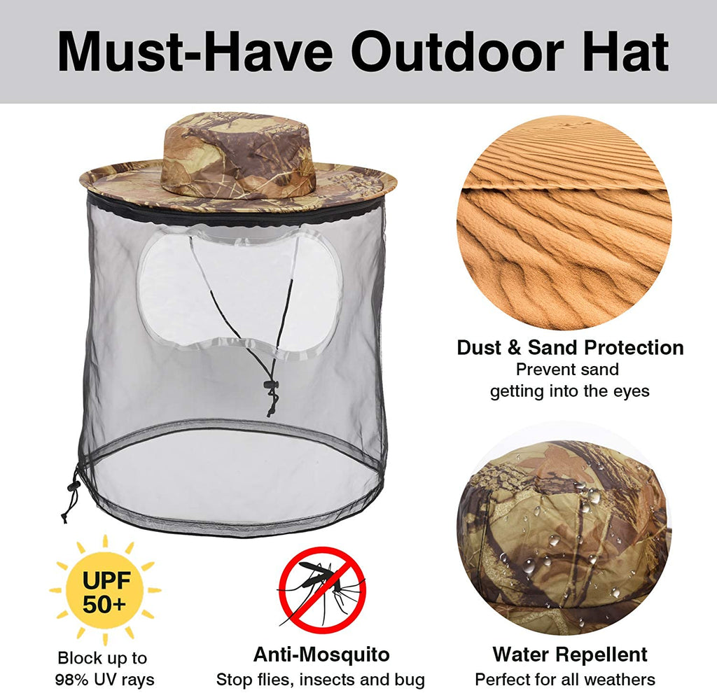 Mosquito Head Outdoor Sun Protection Hat