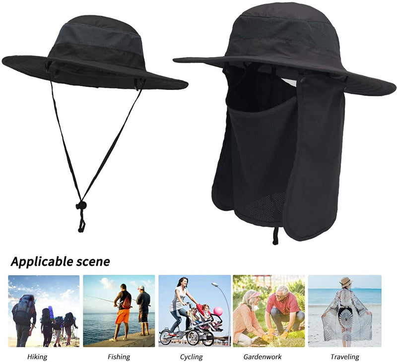 Outdoor Sun Protection Waterproof Fishing Cap