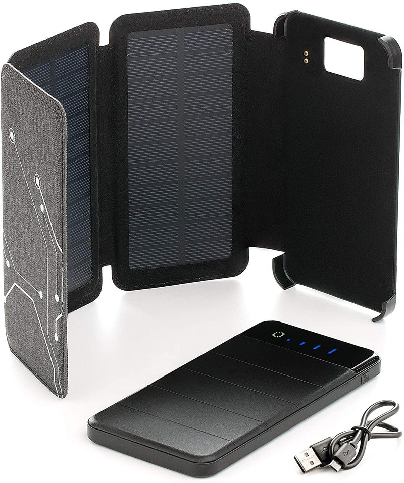 Foxelli Solar Power Bank