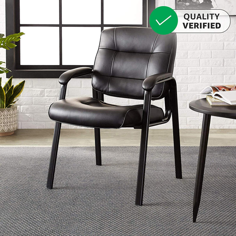 Classic Leather Office Desk Guest Chair