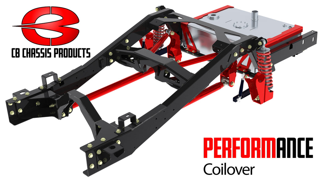 Choppin' Block 63-66 C10 Performance Rear Coil-Over Kit