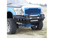 Load image into Gallery viewer, 2015-19 Chevy 2500/3500 - HARDLINE Front Bumper - Matte Black Only