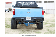 Load image into Gallery viewer, 2011-16 Ford Superduty - HARDLINE Rear Bumper - Matte Black Only