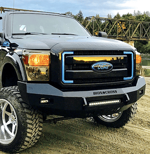 LED Light Kit for Low Profile Bumpers in Maxx Black