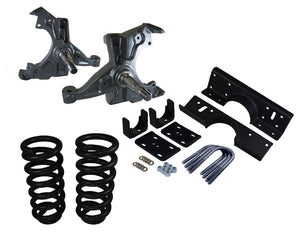 "1992-1999 Chevy-GMC C3500 Crew Cab Deluxe Lowering Kit - 5""Front/7"" Rear"