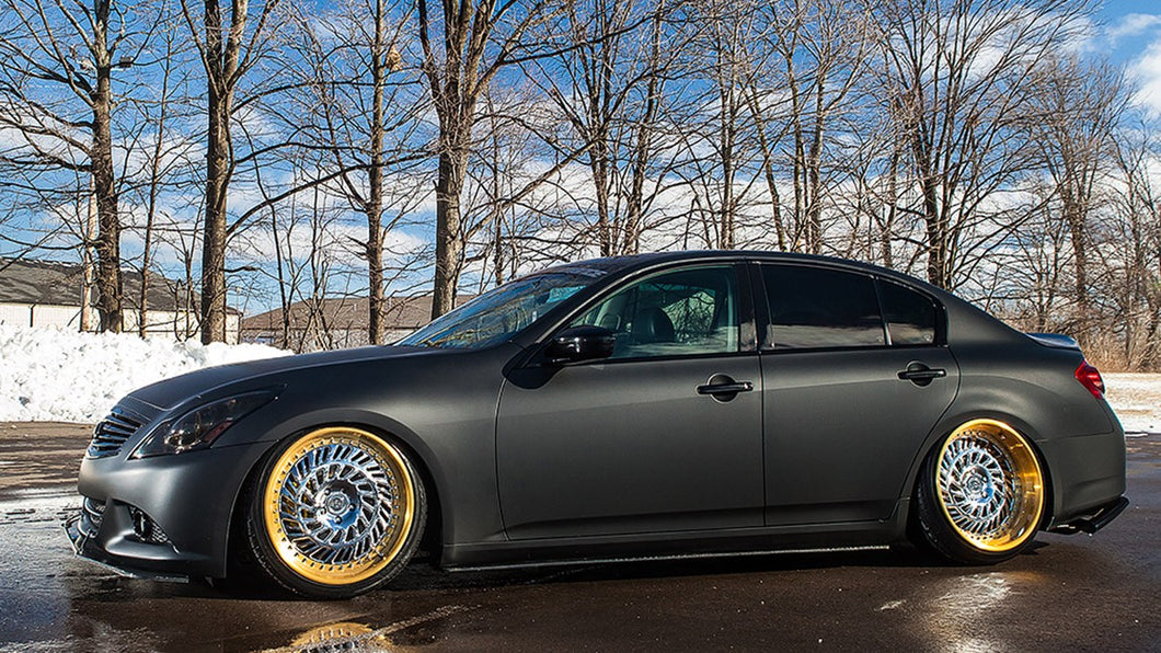 Infiniti G35x/G37x AWD - Airlift Performance - Rear Kit