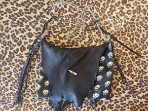 Leather & Skulls Purse