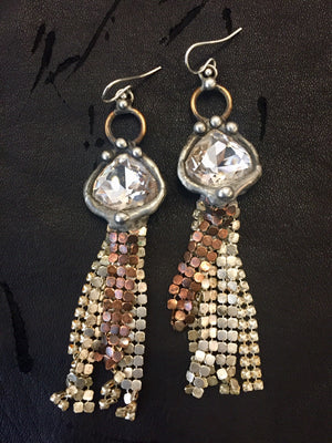 Mikal Winn Mesh Earrings