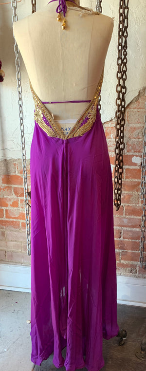 Purple Paradise Dress