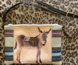 Totem Salvaged Native Bag/Clutch