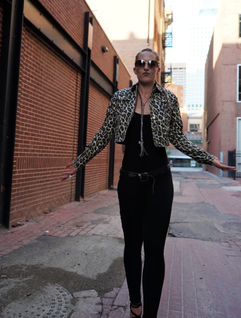 Showstopper Leopard Jacket