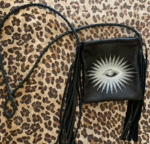 Totem Salvaged Eye of Providence Leather Cross Body