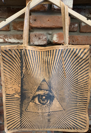 Totem Salvaged Only Have Eyes for You Tote