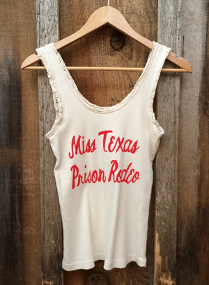 Miss Texas Lace Tank