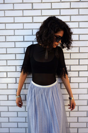 Outshine Metallic Skirt