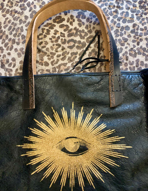 Totem Salvaged Gold Eye Tote