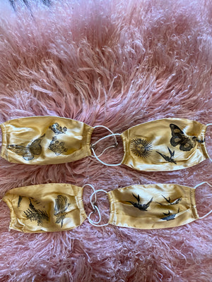 Mulberry silk imaged masks