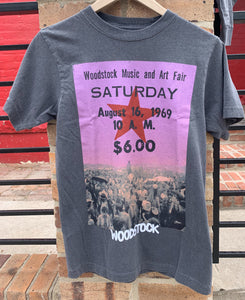 Woodstock Ticket Tee