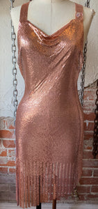 Starshine Fringe ChainMail Dress