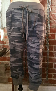Hard Tail Silver Stripe Jogger Pant