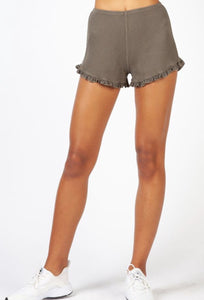 Hard Tail Ruffle Short