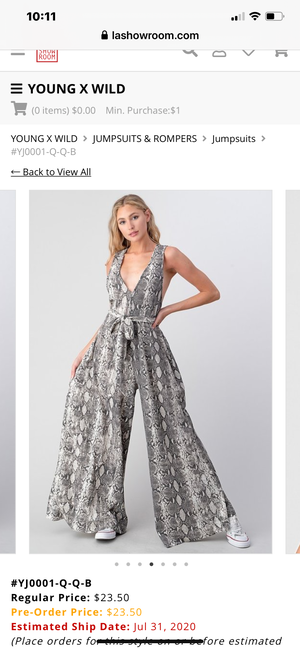 Wild Love Jumpsuit