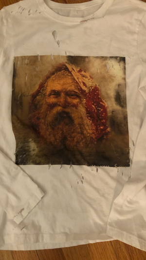 Limited addition vintage true Santa tee