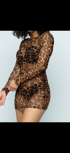 Leopard Queen Tunic