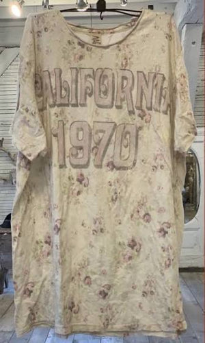 Magnolia Pearl Cotton Jersey California 1970 T