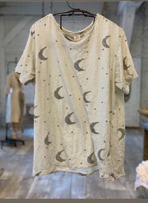 Magnolia pearl crescent moon and stars t