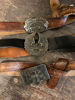 Vintage Rocky Mountain High Belt and Buckle