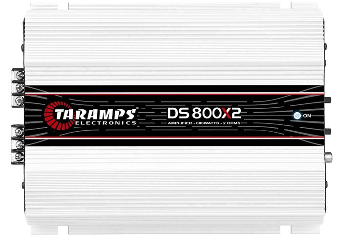 Taramps DS 800x2 2 Channel Amplifier - Iconic Sound Solutions